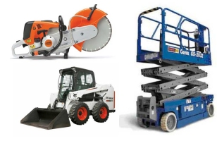 Equipment rentals in Lafayette Rental Service serving Lafayette LA, Sunset, Henderson, New Iberia, Abbeville, Crowley LA