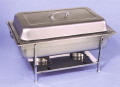 Rental store for CHAFING DISH Full Size Stainless in Lafayette LA