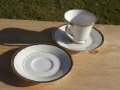 Rental store for DEMITASSE SAUCER - SILVER RIM in Lafayette LA