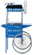 Rental store for SNO CONE MACHINE W CART   SCOOP in Lafayette LA