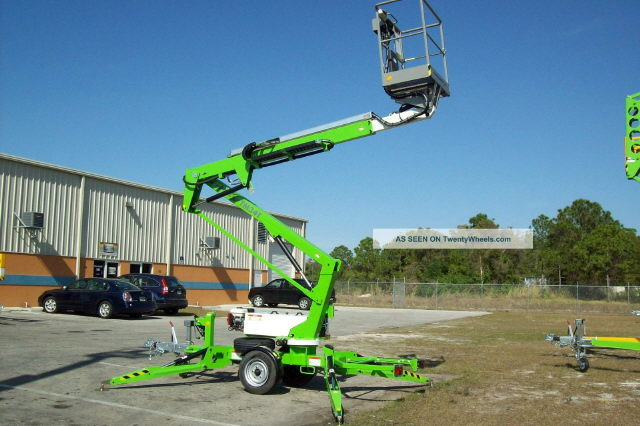 Manlift 34 Foot Gas Towable Rentals Lafayette La Where To