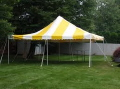 Rental store for TENT 20  x 20  y w Pole Type in Lafayette LA